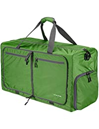 043db14f0a82 Qyuhe 80L Foldable Duffle Bag Extra Large Tear Resistant Luggage Bag For Shopping  Travel Gym Sports