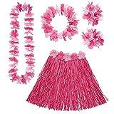 Widmann 24564 Hawaii Set für Erwachsene, Damen, Pink