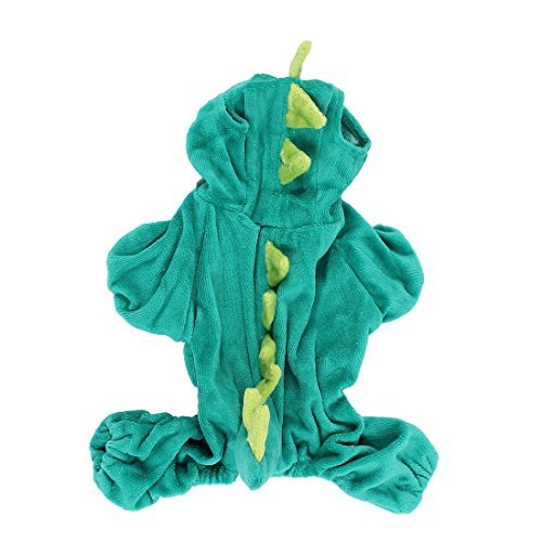Cute Hunter Kostüm - Regenjacken Prinzessinkleid T-Shirt Kostüme Sourcingmap Dinosaurier Form Pet Hund Doggy Ärmeln Coat Kleidung, X-Small, Hunter Green Slimfit Herbst Cute große