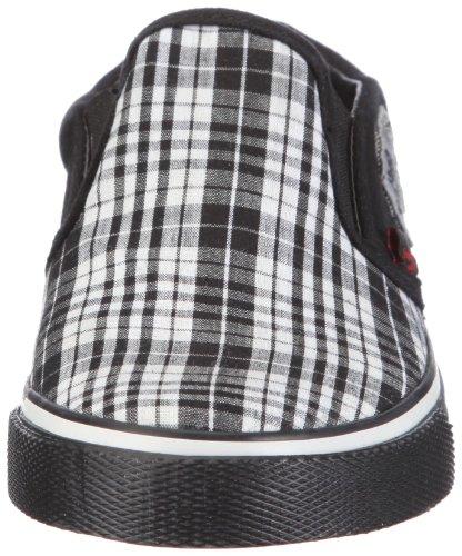 Capt'n Sharky Ronny 160080, Baskets mode garçon Noir-TR-C1-7