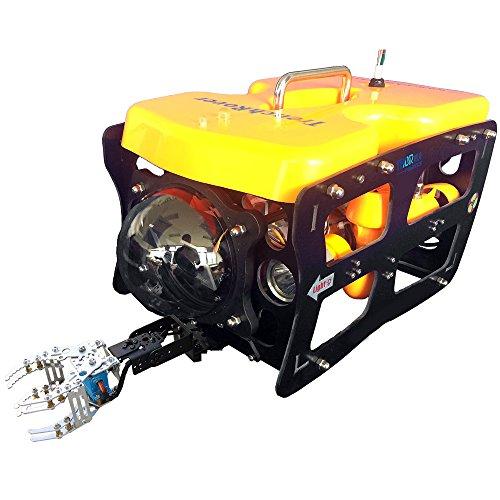Thor Robotics Unterwasserroboter-Kamera Unterwasserroboter 110 mit mechanischem Arm Explorer Einzigartige Unterwasserdrohne Type3.Wire & Arm & Ground Station Version