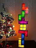 Tetris light Lampe Licht Stapelbare LED Tischleuchte Kind Geschenk Nachtlicht Berührungstyp