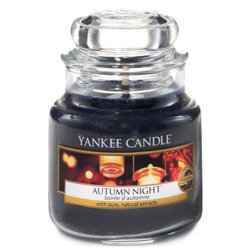 Wald Kerze Duft (Yankee Candle Glaskerze, klein, Autumn Night)