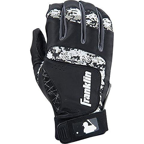 MLB Franklin Sports Shok-Sorb Neo Batting Gloves Medium Professional Batting New - Franklin Sport Grip