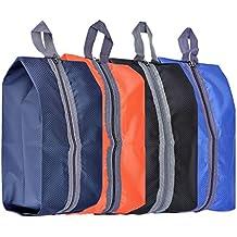Mangostyle Set di 4 Borsa per Scarpe Portascarpe in poliestere Viaggi  sacchetto dell organizzatore Ideale f7413d237e2