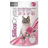 Arquivet 8435117840225- SilicaCrystal Lettiera per gatti, 3,8 litri, all'aroma di rose
