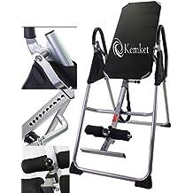 Panca a inversione professionale – riduce il mal di schiena e lo stress e migliora la postura e la flessibilità, Kemket Inversion Table