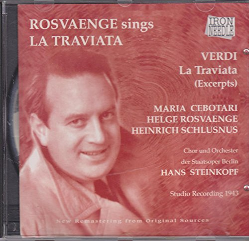 Rosvaenge Sings la Traviata