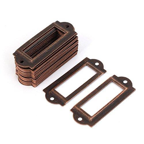 30-stuck-coppertone-metall-aktenschrank-etikettenrahmen-schrankrahmen-rahmen