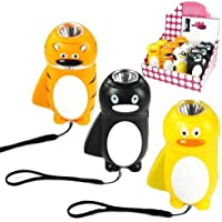 Animal Eco Torch (One supplied), no batteries required - just pump the hand grip!