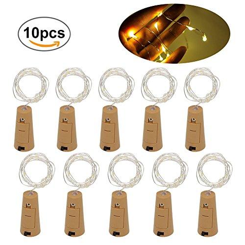 LED Flaschen-Licht, Wein Flaschen Lichter, 10pcs Flaschenlicht LED, -