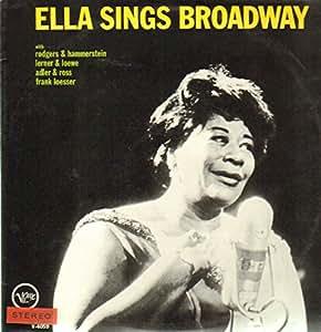 ella sings broadway LP
