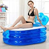 Sweet Bathtub Aufblasbare Badewanne Dicker Erwachsenen Doppel Kunststoff Aufblasbare Badewanne Falten Baby Badewanne Garten Schwimmbad