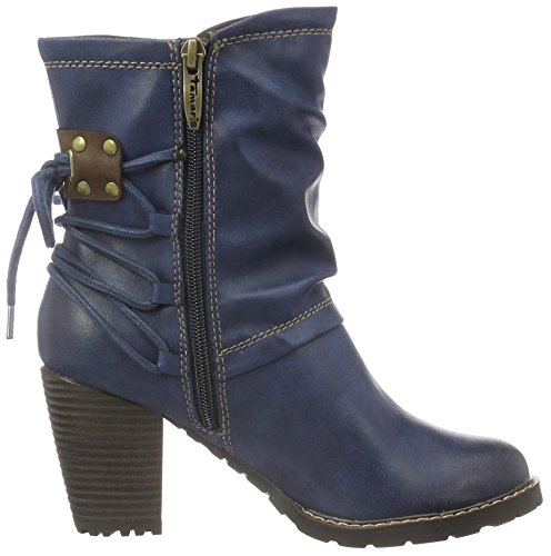 Tamaris 25359, Bottes Classiques Femme Bleu (Navy 805)