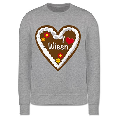 oktoberfest-kind-lebkuchenherz-i-love-wiesn-munchen-12-13-jahre-152-grau-meliert-jh030k-kinder-premi