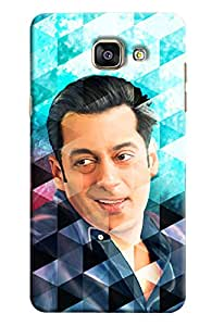 Omnam Salman Khan In Prism Effect Printed Designer Back Cover Case For Samsung Galaxy A9 (2016)