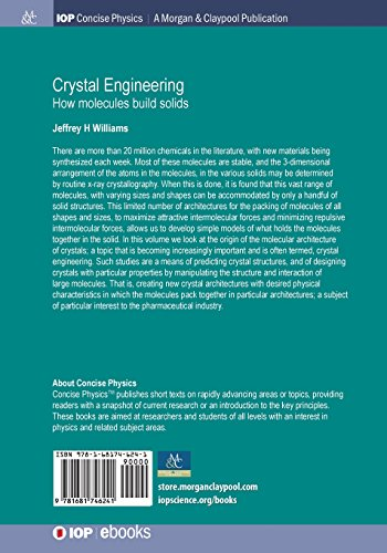 Crystal Engineering: How Molecules Build Solids (Iop Concise Physics)