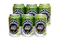 3 Horses Non Alcoholic Beverage - Pack of 6 (330ml Each) (Apple)