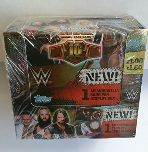 Topps - WWE Slam Attax 10th Edition - 1 Display (36 Booster) - Deutsch