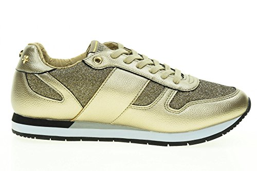 LIU-JO GIRL Scarpe Donna Sneakers Basse UM23279 Oro