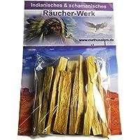 Palo Santo | 12 Stück | Heiliges Holz Indianer Räucherwerk #81050 | MIT Räucheranleitung für spirituelle Räucherung... preisvergleich bei billige-tabletten.eu