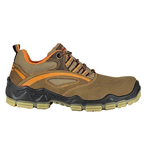Cofra scarpe di sicurezza Matisse S1P Wellness 20060–001, metallfreie lavoro scarpe, marrone, marrone, 20060-001