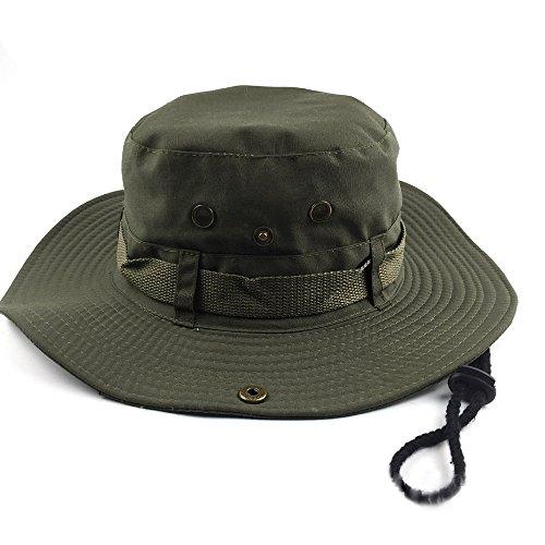 Asien Sombrero del Cubo, Sombrero al Aire Libre de la protección del Sol para Cazar Que acampa de la Pesca Unisex Hombres armados