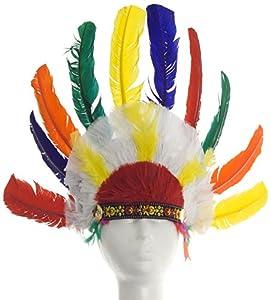 Hola - Sombreros Tiara indio con plumas