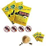 libre de contaminaci—n Seguridad polvoriento saludable Killing Roach cucaracha Plagas Medicina Trampa de gran alcance