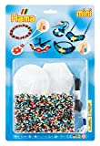 Hama - 5615 - Loisirs Créatifs - Blister 4000 Perles à Repasser + 3 Plaques + 1...