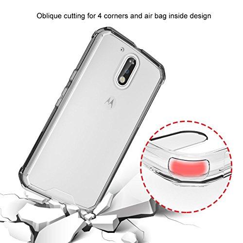 iPhone 7 Hülle Case, iThrough® Liquid Crystal Ultra Dünn Crystal Clear Transparent Handyhülle Cover Soft Premium-TPU Durchsichtige Schutzhülle Backcover Slimcase für iPhone 7 Moto G4