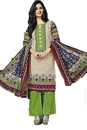 Karam Fashion Women's Cotton Kurta (3340 & 3341_Multicolor)