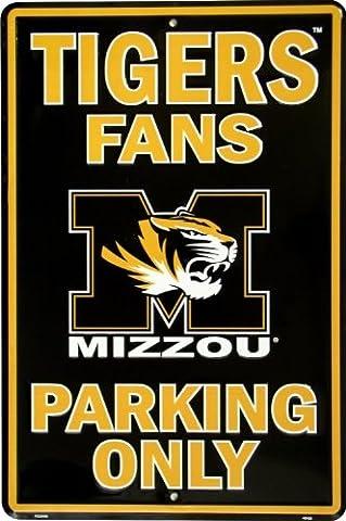 Missouri Tigers Fans Parking Sign