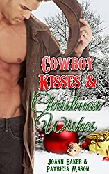 Cowboy Kisses and Christmas Wishes (BBW Holiday Romance)