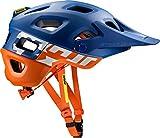 Mavic Crossmax Pro MTB Fahrrad Helm blau/orange 2018: Größe: S (51-56cm)