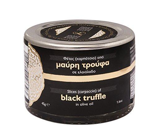 Sliced Black Truffle in Greek Olive Oil 45g by Natural History Museum of Meteora & Mushroom Museum