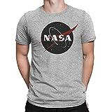 Vintage Retro Grunge NASA Logo Homme T-shirt L