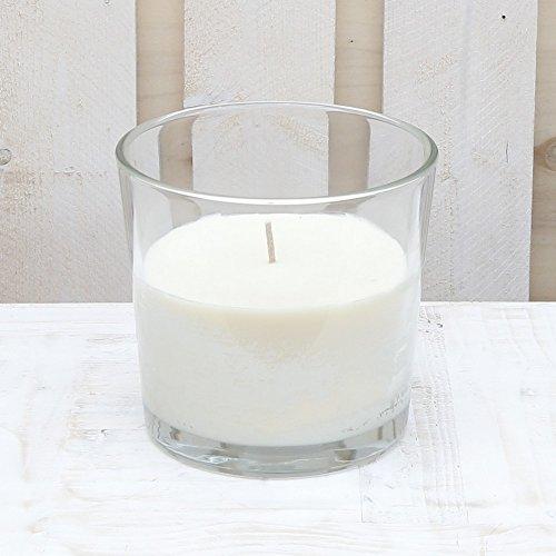 Glooke Selected Kerze in Glas-Glas Finca XXL weiß