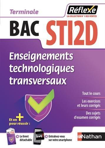 Enseignements technologiques transversaux Tle BAC STI2D