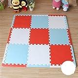 L&LQBambino interbloccante che striscia il puzzle della stuoia del puzzle della stuoia di schiuma di addensamento che copre la coperta del gioco del bambino , 020 , 30*30*1.4cm