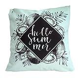 Home Edition Outdoor Kissen, wasserabweisend, 45 x 45 cm, Summer mint