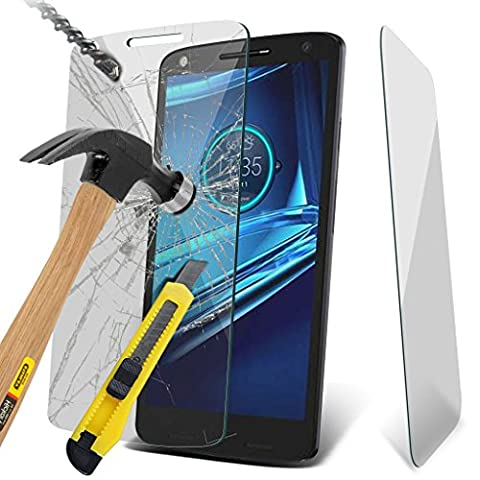 Fone-Case High Quality Motorola Moto X Force Tempered Glass Screen Protector 1 PACK