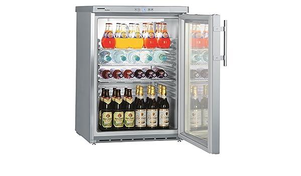 Kühlschrank Minibar Getränkekühlschrank Silber A Edelstahl Glastür 80l : Liebherr fkuv 1663 u2013 22 u2013 drink coolers 289 freestanding st
