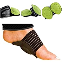 Myoyo Fuß Ferse Schmerzlinderung Plantar Fasciitis Einlegesohle Pads Arch Support Schuhe Einfügen preisvergleich bei billige-tabletten.eu
