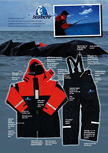 Behr Schwimmanzug - Seabehr - Floatinganzug (L = 50-52)