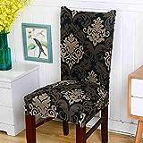 SDFASV Stretch Stuhlabdeckung für Computer/Esszimmer/Küche/Büro Stuhlhussen Anti-schmutzig Spandex Sitzbezug für Hochzeitsbankett Hotel