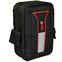 LOOKit Premium Tasche U2- L für Panasonic Lumix DC TZ91 TZ81 TZ71, Sony HX80, Canon SX620 SX720 / TZ60 / TZ61, Sony DSC-RX100 V