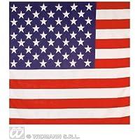 EE.UU. Americano Estrellas Y Rayas Bandera Pañuelo 55X55Cm Motociclista Cabeza Envuelva Bufanda