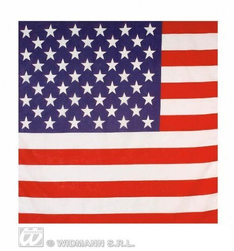 Usa American Stars And Stripes Flag Bandana 55X55Cm Biker Head Wrap Scarf by Home & Leisure Online