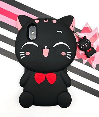 [caserbay] iPhone Handy Fall 3D Cute Cartoon Kawaii Tier Serie Soft Silikon Gummi Schutzhülle, for iPhone 8 Plus/iPhone 7 Plus (5.5